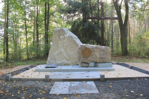 Pomnik w Gaśnem